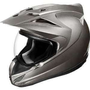 Icon Solid Mens Variant On Road Motorcycle Helmet   Medallion Gloss