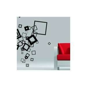 Crazy Cubes wall stickers decal (mega size)