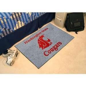 Washington State Cougars NCAA Starter Floor Mat (20x30