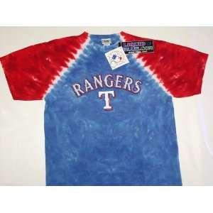 Texas Rangers Youth MLB Tye Die T Shirt ( Medium )