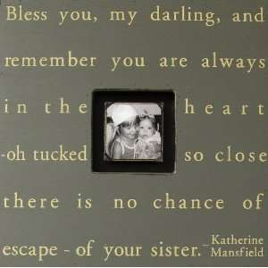 Bless You My Darling Square Picture Frame