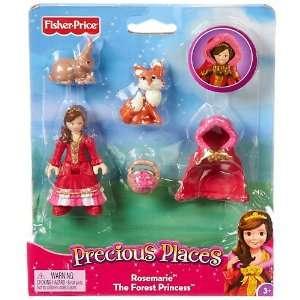 Precious Places Mini Figures   Rosemarie he Fores Princess  oys