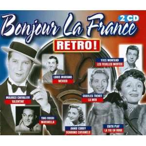 Bonjour la France Retro, Vol. 1 Various Artists Music