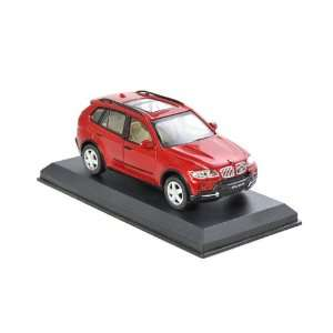 SUV / RUV Model Car with Opening Doors, Red, Scaled 132