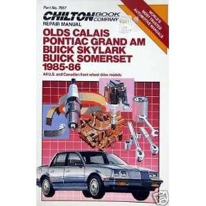 1985 86 Chilton Repair Manual   General Motors FWD