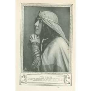 1911 Print Actress Julia Marlowe Everything Else