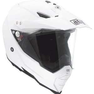 AGV AX 8 Dual EVO White Off Road Motorcycle Helmet 2X AGV SPA   ITALY