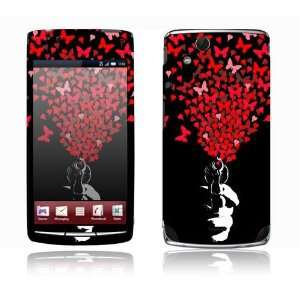 Xperia Acro Decal Skin Sticker   The Love Gun Everything Else