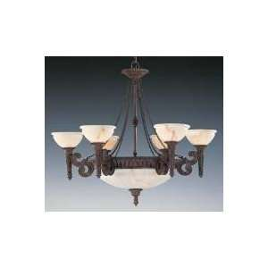 La Scala Collection 6 Uplight Chandelier  F1731/6 / F1731/6 PAL   colo