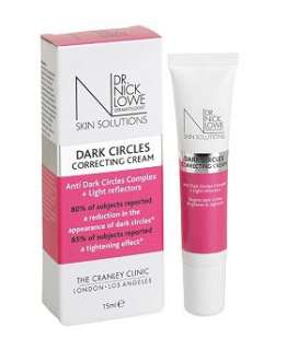 Dr Nick Lowe Dark Circles Correcting Cream 15ml   Boots