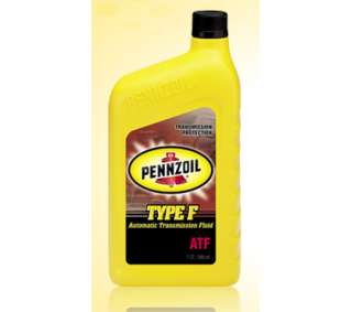 5523 Pennzoil Auto Transmission Fluid   Type F CS12 for 94 97 Honda