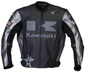 Joe Rocket Kawasaki heavy Jacket Mens, Black/Gunmetal