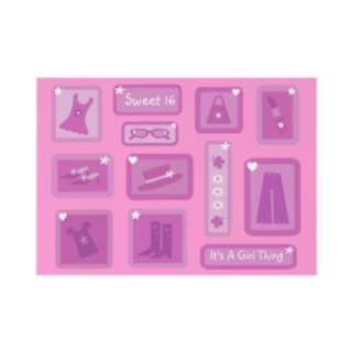 Cute Sweet 16 Clothes & Accessories Pink Custom Envelope from Zazzle