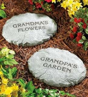 Personalized Garden Sepping Sones   Plow & Hearh