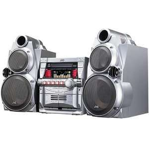 JVC MX GB6 Compact Audio System with 3 Disc CD Carousel: Electronics