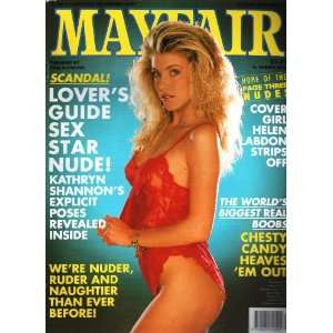 Mayfair magazine Volume 26 Number 12 Helen Labdon   Chesty Candon