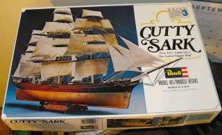 VINTAGE CUTTY SARK REVELL MODEL KIT 1979 (031445054013)