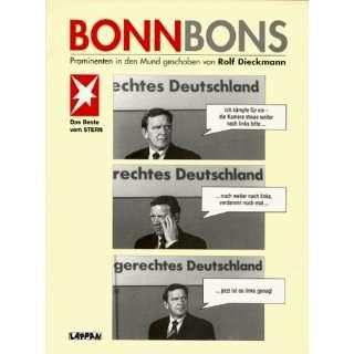 Bonnbons. Prominenten in den Mund geschoben: .de: Rolf Diekmann