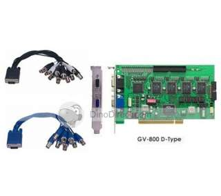 FPS DVR PCI Video Capture Card GV 800 free shipping   DinoDirect