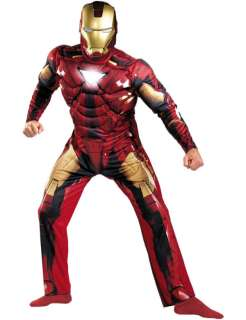 Muscle Chest Iron Man 2 Super Hero Costume  Jokers Masquerade