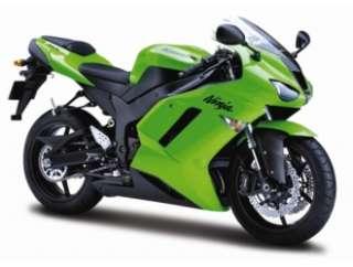 Kawasaki ZX 6R Ninja (2007) Diecast Model Motorbike by Maisto 31155
