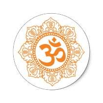 Om   Ohm   Aum Symbol Sticker by PreciousDesigns