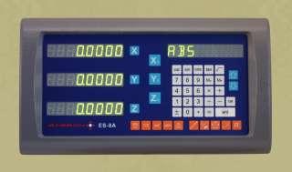 Easson ES8A 3 Axis Digital Readout Mill 12x30x16 DRO Kit w 1 Year USA