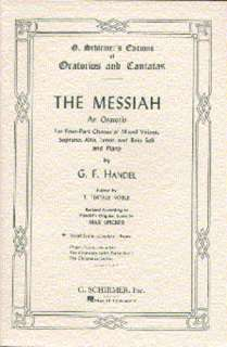 Handel: Messiah  (Schirmer Vocal Score)   Soprano, Alto, Tenor