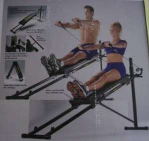 Total gym 1100 full body workout fitness machine