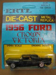 Vintage ERTL 1956 Ford Crown Vic #1633 diecast car 1/64