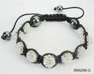 Disco Ball Diamond Ball Friendship Bracelet 10 Colors+Gift Box