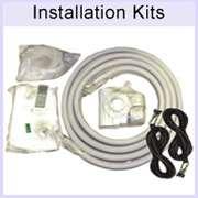 Ductless Air Conditioner AC, Mini Split Heat Pump A/C, Quad Zone