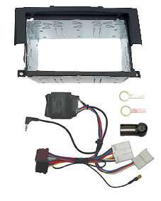 Mitsubishi Colt Double Din fascia Alpine interface DSP