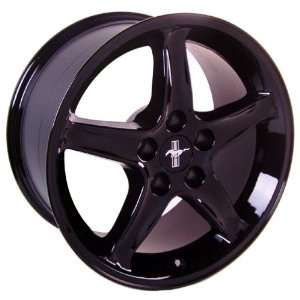Ford Mustang Cobra R Style Wheel Black Wheels Rims 1994 1995 1996 1997