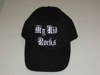 MY KID ROCKS Ladies Baseball Cap Hat Rhinestone Bling