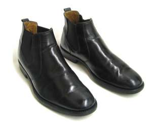 Johnston & Murphy Mens Boots Black Leather Headley Gore 10.5 M