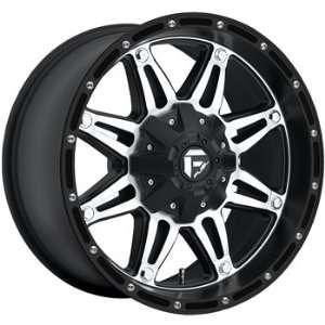 Fuel Hostage Black Machined Wheel (20x9/6x5) Automotive