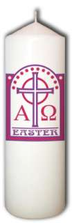 Personalized Custom Easter Candles from Goody Candles Photo Candles