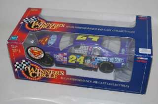 Gordon 1/24 Winners Circle Diecast Car Superman 1999 Nascar NIB