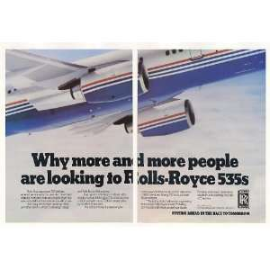1983 Boeing 757 Airliner Rolls Royce 535 Engine 2 Page