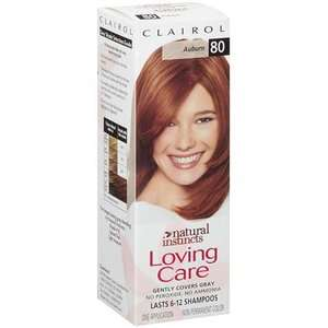 Clairol Natural Instincts Auburn/80 Hair Color Hair Care