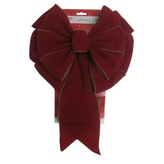 Walmart Holiday Time Large Red Bow Christmas Decor