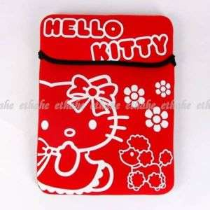 Hello Kitty Laptop Notebook Computer Case Bag Red 2E1K