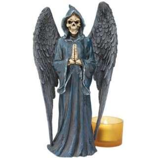 Gothic Dark Angel Grim Reaper Statue