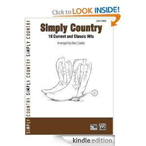 Simply Country 18 Current and Classic Hits (Easy Piano) (Simply