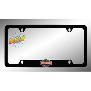 Harley Davidson Car Truck SUV License Plate Frame Black Metal   Harley