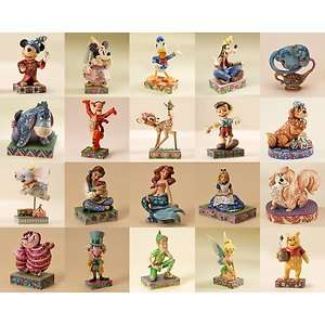 Jim Shore DISNEY Traditions PERSONALITY POSE Figurines YOUR CHOICE 20
