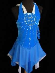 Ice Skating Dance Twirling Costume Dress Child Small (7 8)