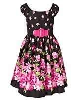 NEW Bonnie Jean Kids Dress, Girls Pink Floral Dress