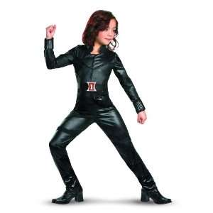 Black Widow Avengers Deluxe Costume, Black, Large Toys & Games